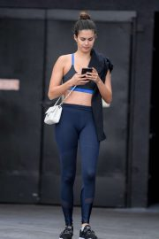 Sara Sampaio - Leaves a gym session in Los Angeles