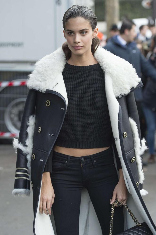 Sara Sampaio - Miu Miu Fashion Show 2016 in Paris