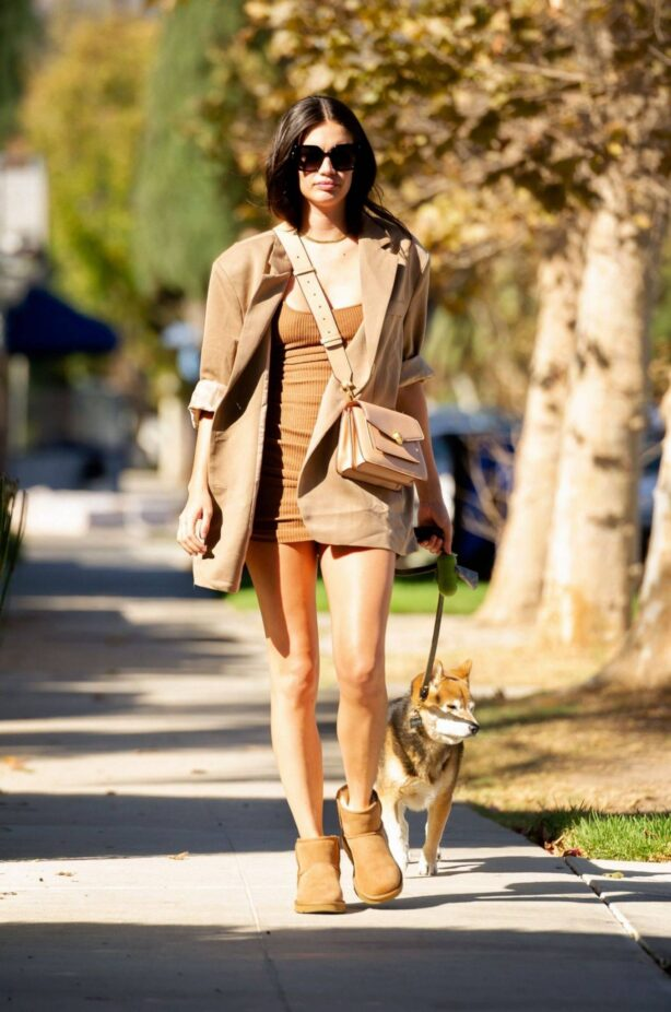 Sara Sampaio - out and about in Los Angeles
