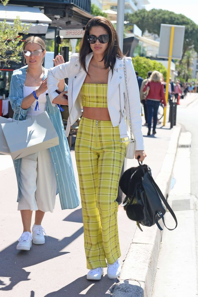 Sara Sampaio - Out in Cannes