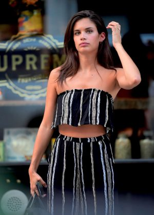 Sara Sampaio - Out in New York City