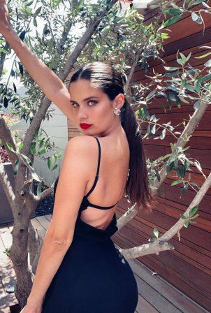 Sara Sampaio - Posing for @harpersbazaarus