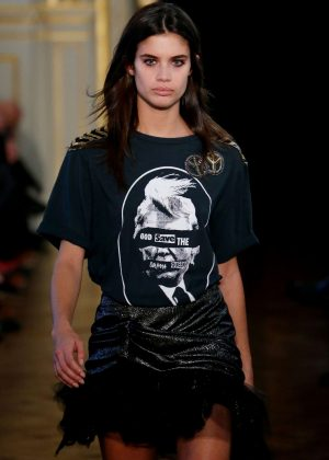 Sara Sampaio - Redemption Runway Show at 2017 PFW in Paris