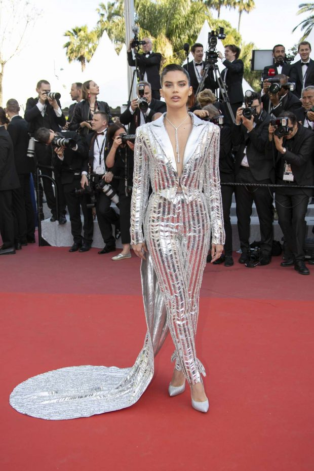Sara Sampaio - 'Rocktman' Screening at 2019 Cannes Film Festival