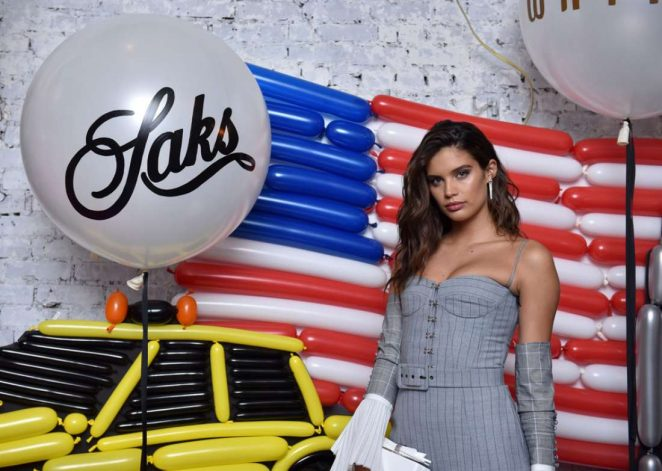 Sara Sampaio - Saks Celebrates AdR Book: Beyond Fashion by Anna Dello Russo in NYC