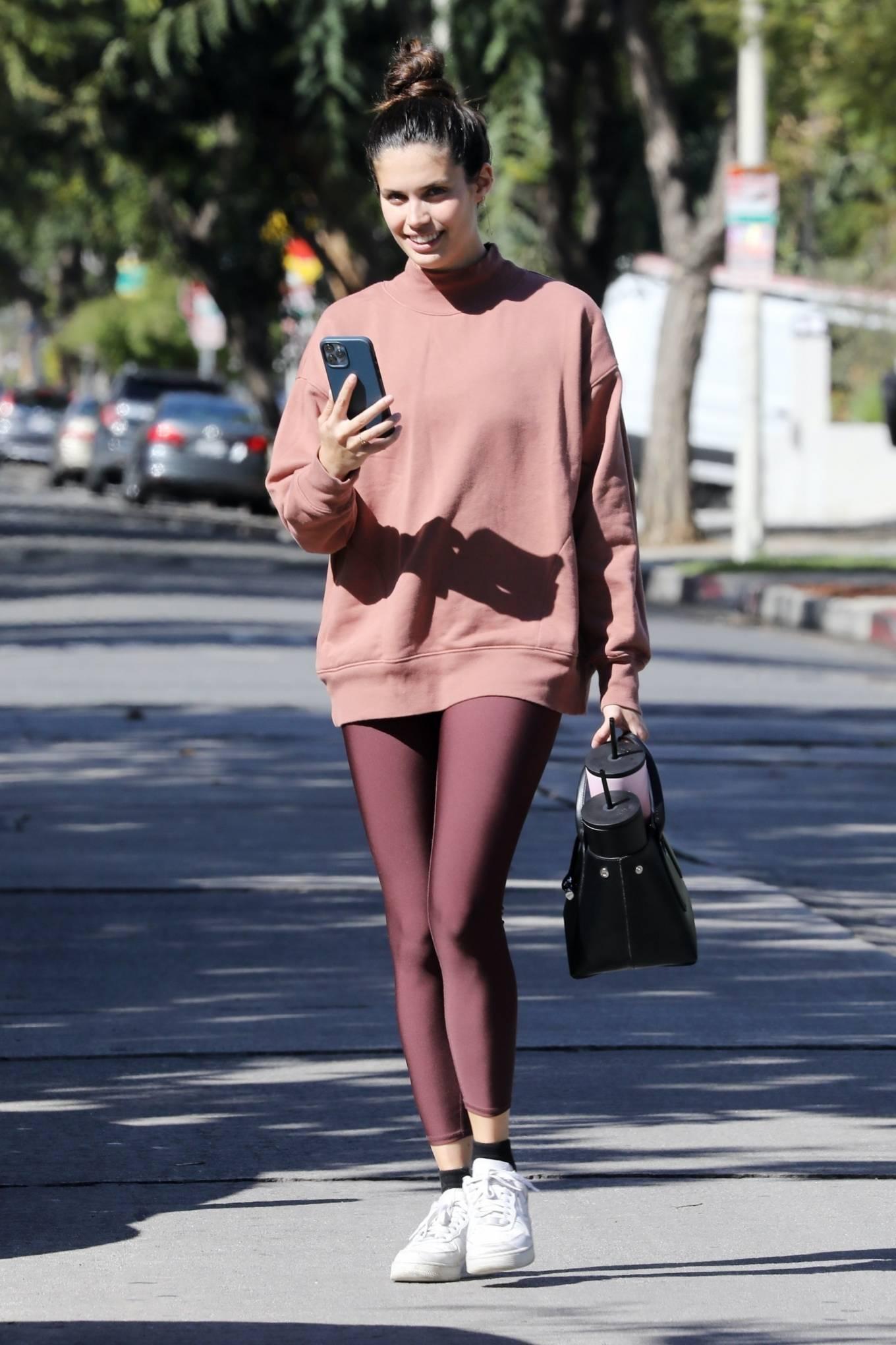 Sara Sampaio 2021 : Sara Sampaio – Seen after pilates class in Los Angeles-06