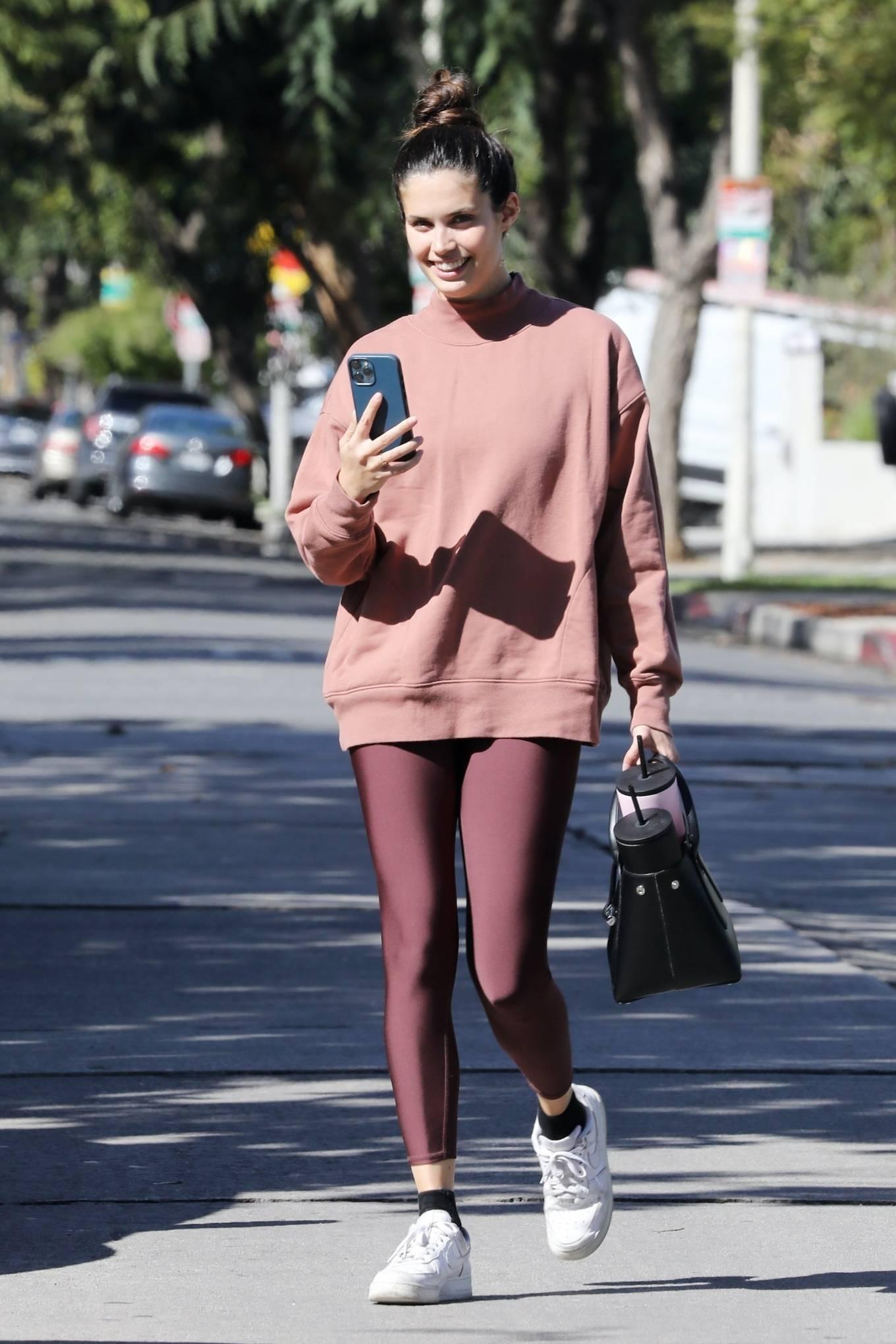 Sara Sampaio 2021 : Sara Sampaio – Seen after pilates class in Los Angeles-14
