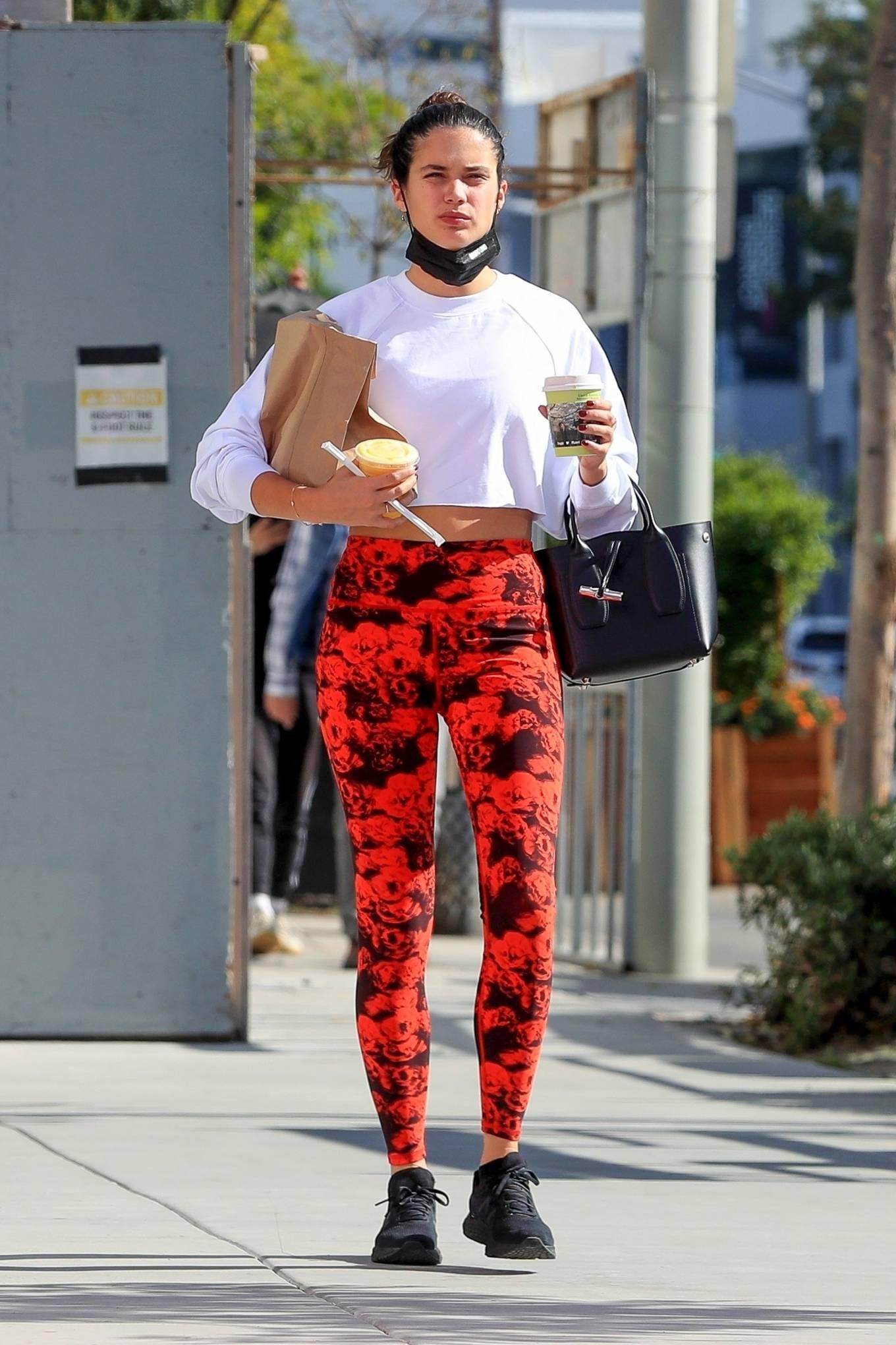 Sara Sampaio 2020 : Sara Sampaio – Seen after workout at the Dogpound gym in Los Angeles-08