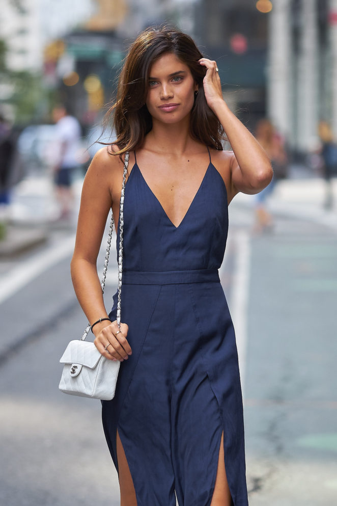 Sara Sampaio - Seen out in NYC