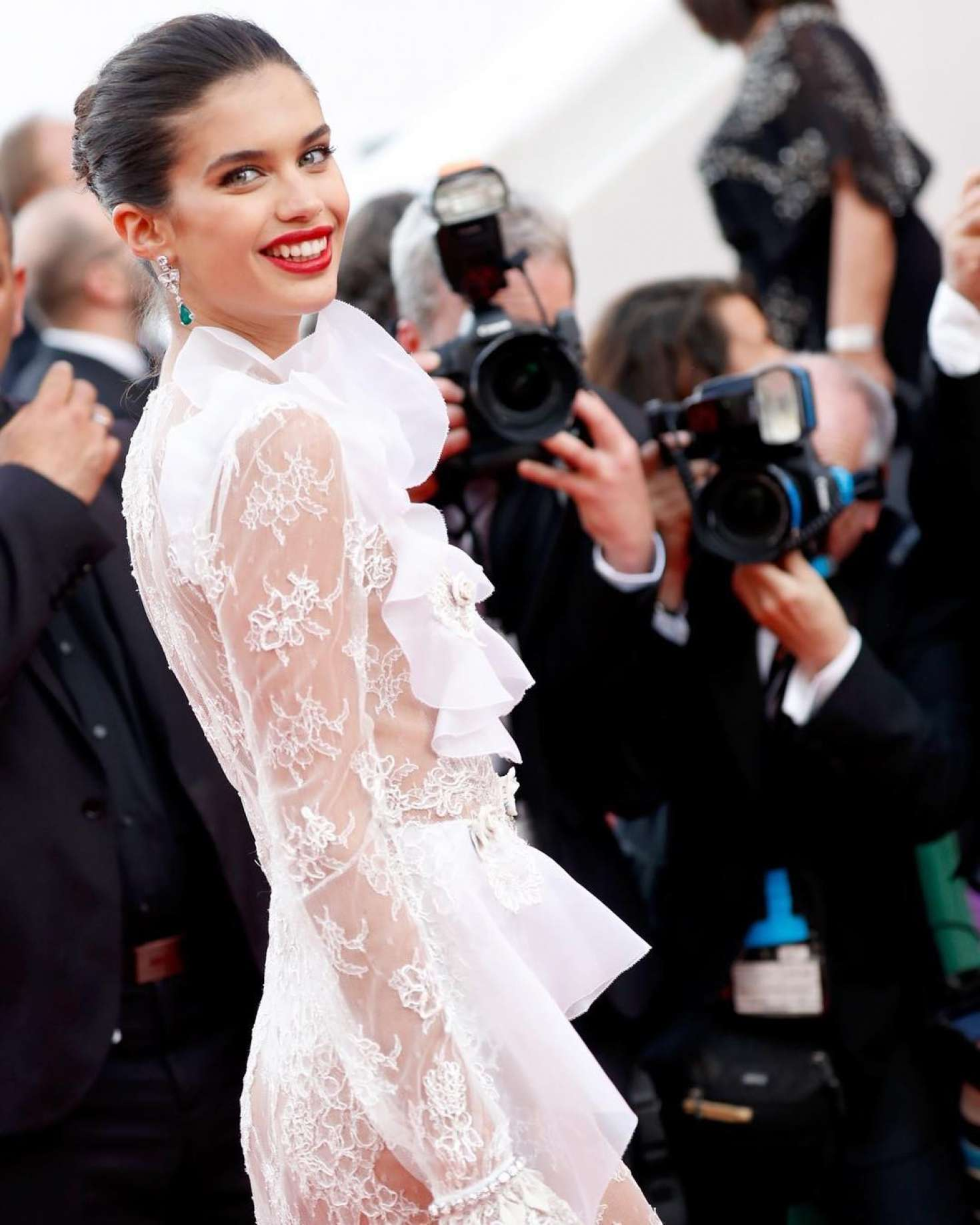 Sara Sampaio – 'The Killing of a Sacred Deer' Premiere at 70th Cannes Film Festival   Sara-Sampaio:-The-Killing-of-a-Sacred-Deer-Premiere-at-70th-Cannes-Film-Festival--02