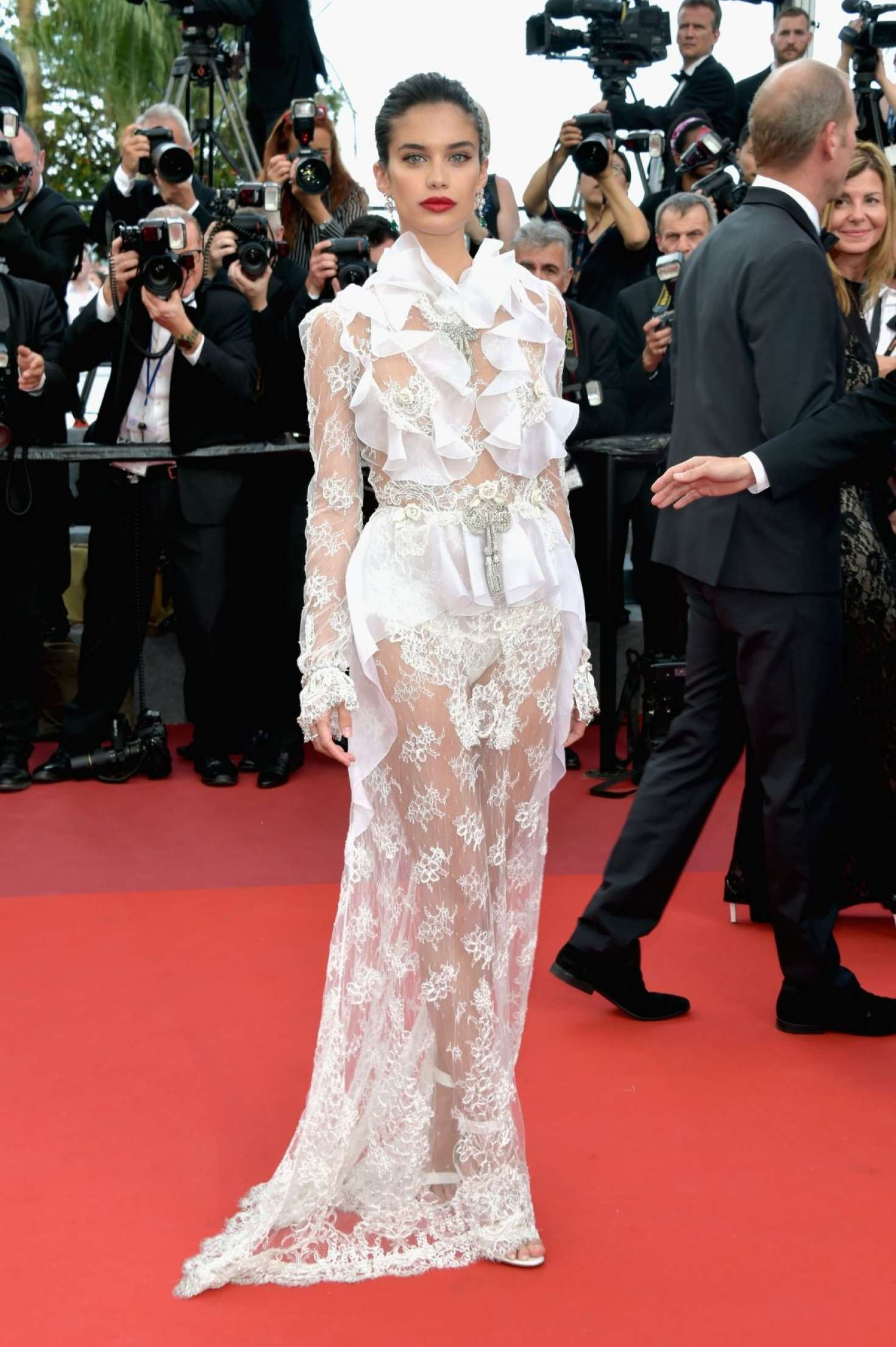 Sara Sampaio – 'The Killing of a Sacred Deer' Premiere at 70th Cannes Film Festival   Sara-Sampaio:-The-Killing-of-a-Sacred-Deer-Premiere-at-70th-Cannes-Film-Festival--04