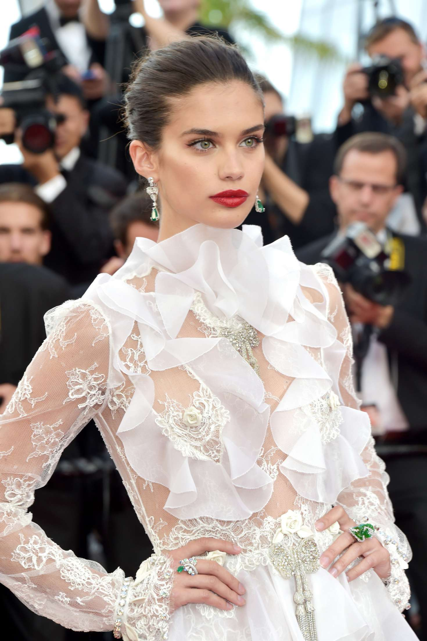 Sara Sampaio – 'The Killing of a Sacred Deer' Premiere at 70th Cannes Film Festival   Sara-Sampaio:-The-Killing-of-a-Sacred-Deer-Premiere-at-70th-Cannes-Film-Festival--06