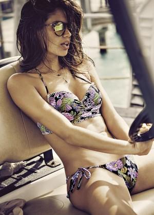 Sara Sampaio - Victoria's Secret Bikini (December 2015)