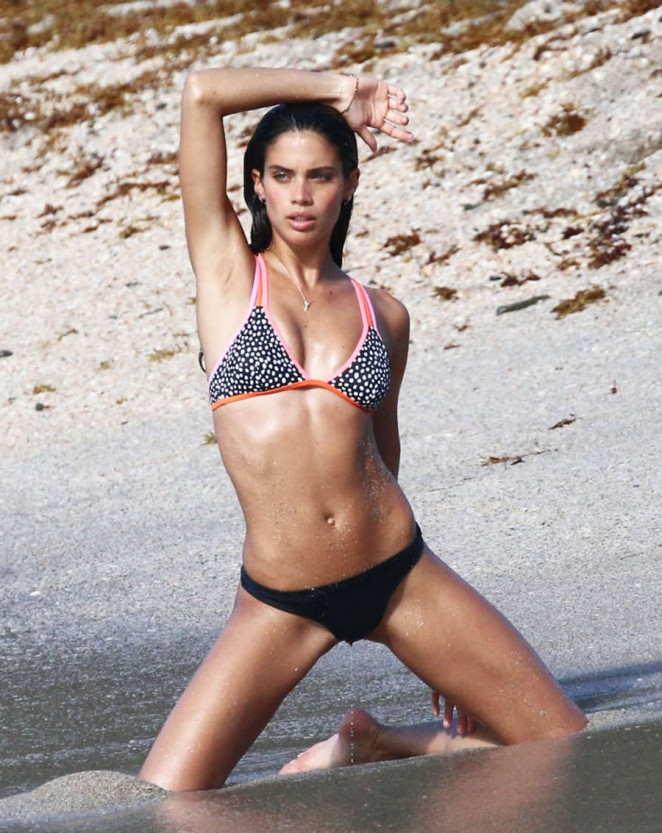 Sara Sampaio with Bikini Pic 26 of 35