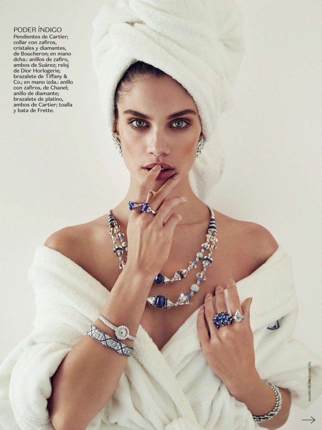 Sara Sampaio – Vogue Mexico Magazine (July 2015)