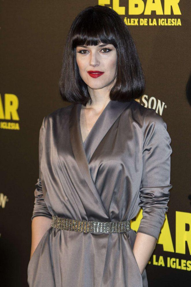 Sara Vega - 'El Bar' Premiere in Madrid