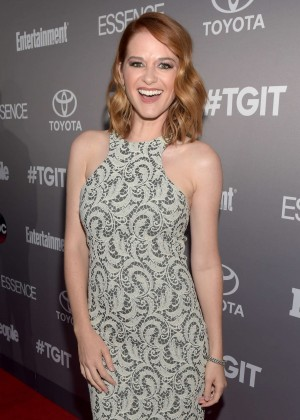Sarah Drew - ABC's TGIT line-up Celebration in West Hollywood