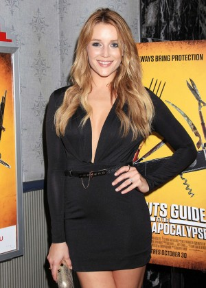 Sarah Dumont - 'Scouts Guide to the Zombie Apocalypse' Screening in NY