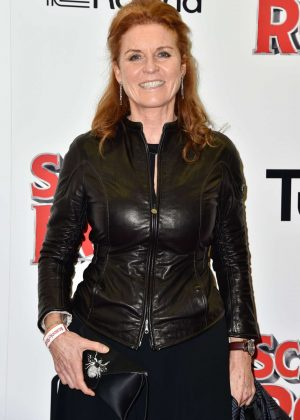 Sarah Ferguson - 'School of Rock' Musical VIP Night in London