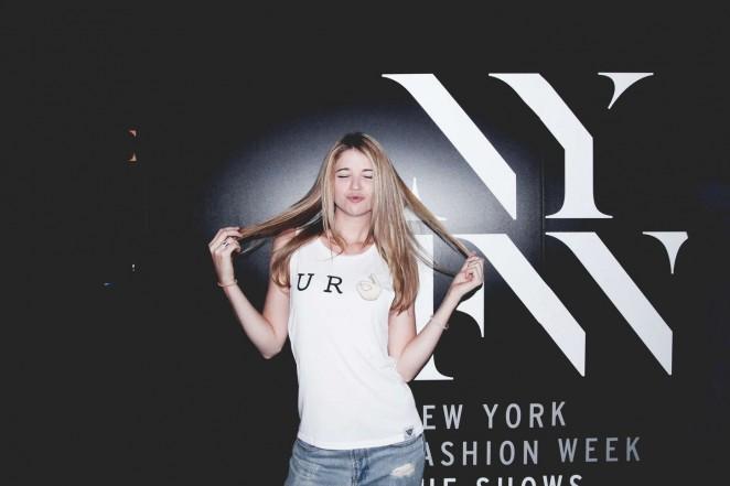 Sarah Fisher - 'Wear Your Label' Photoshoot (Summer/Autumn 2015)