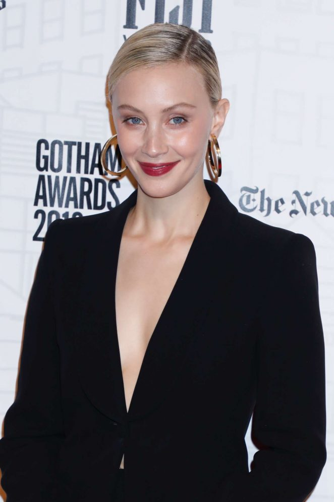 Sarah Gadon – 28th Annual Gotham Independent Film Awards in NY
