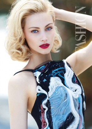 Sarah Gadon - Fashion Magazine (October 2015)