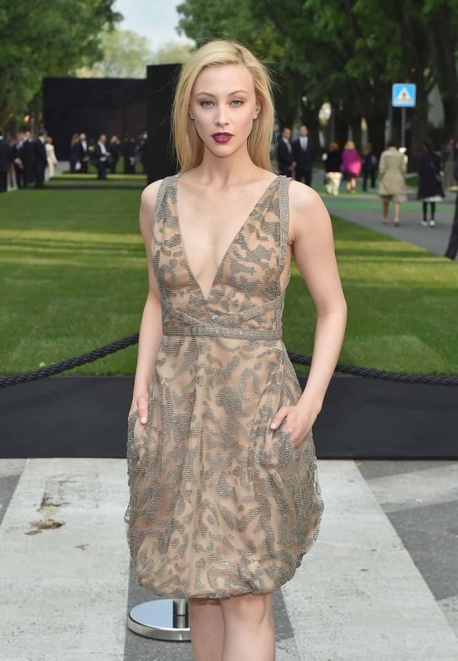 Sarah Gadon - Giorgio Armani 40th Anniversary Silos Opening And Cocktail Reception in Milan