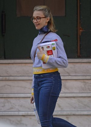 Sarah Gadon out in New York City