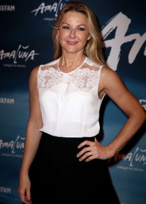 Sarah Hadland - Cirque du Soleil 'Amaluna' Press Night in London