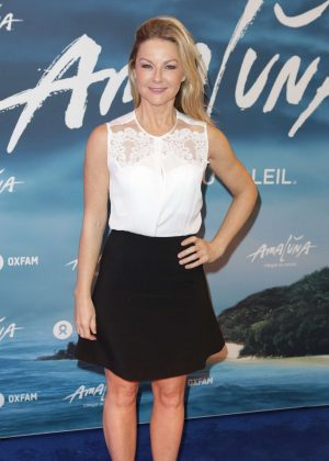 Sarah Hadland - Cirque du Soleil: Amaluna Press Night in London