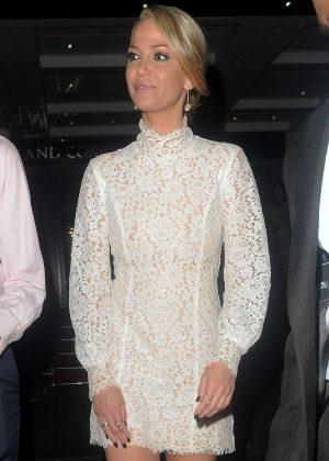 Sarah Harding - Arriving at British LGBT Awards 2016 in London