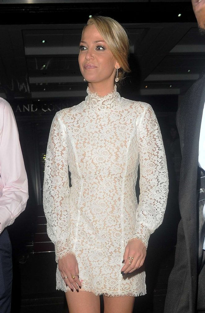 Sarah Harding - Arriving at British LGBT Awards 2016 in London