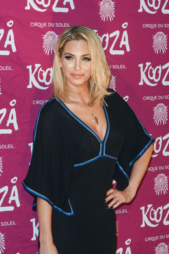 Sarah Harding - Kooza By Cirque Du Soleil VIP Performance in London