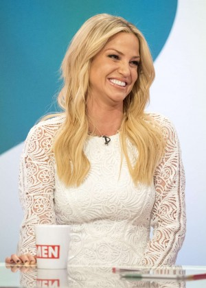 Sarah Harding - Loose Women TV Show in London