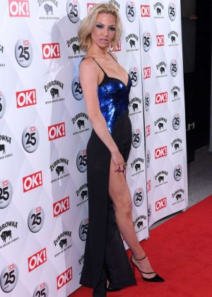 Sarah Harding -  OK! Magazine's 25th Anniversary Party in London