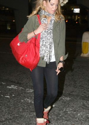 Sarah Harding out and about in Birmingham