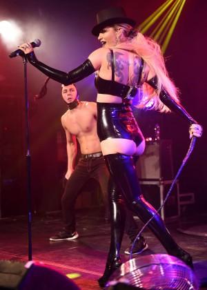 Sarah Harding: Performing at GAY -16