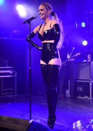 Sarah Harding: Performing at GAY -17