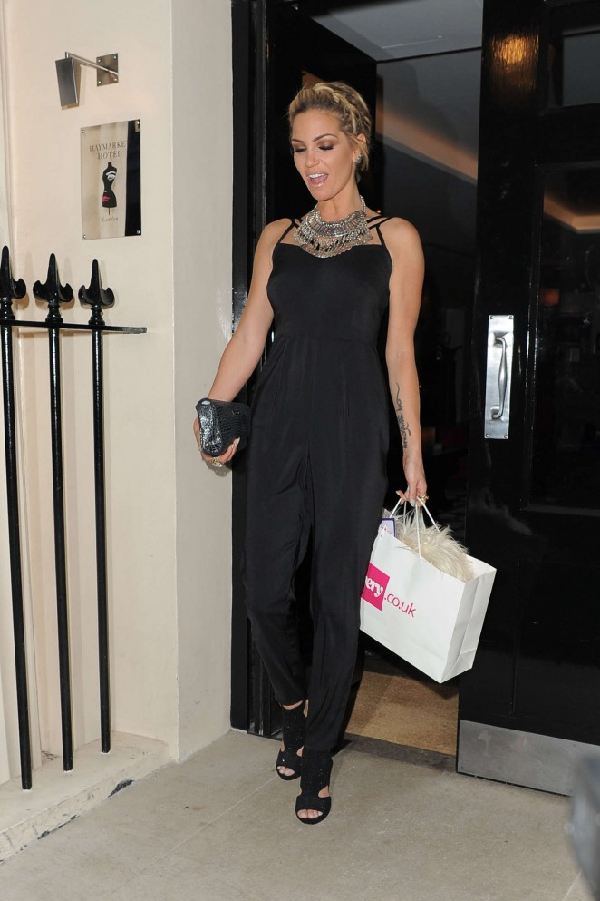 Sarah Harding - Very.co.uk VIP Summer Party in London