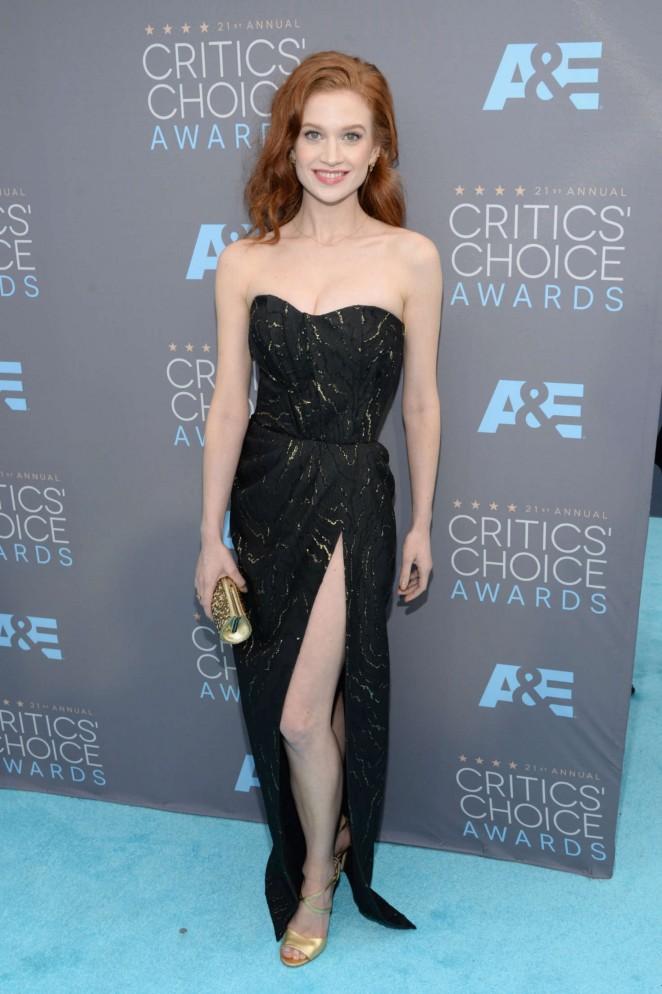 Sarah Hay - 2016 Critics Choice Awards in Santa Monica