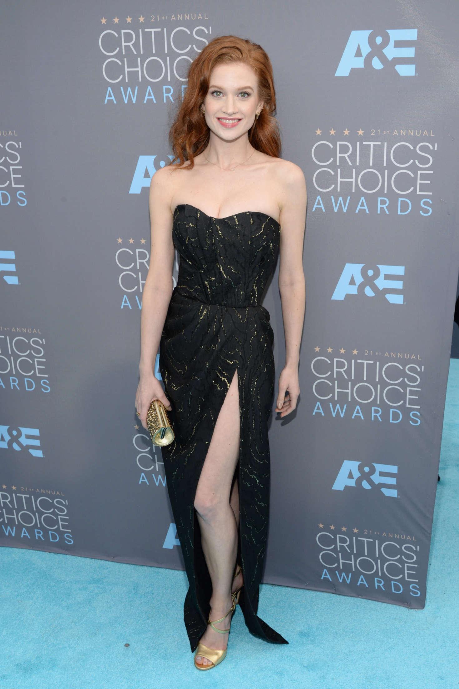 Sarah Hay 21st Annual Critics Choice Awards In Santa