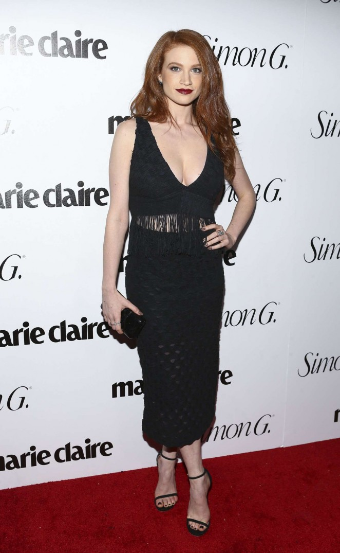 Sarah Hay: Marie Claire Hosts Fresh Faces Party Celebrating May Issue Cover Stars -06