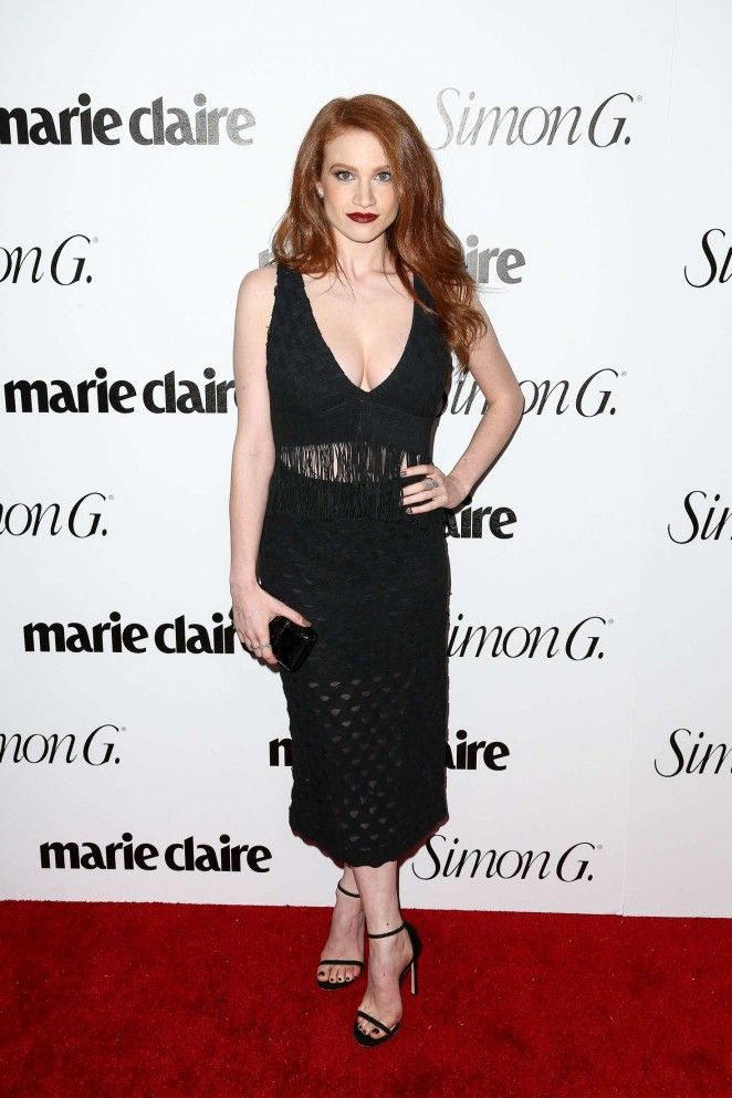 Sarah Hay: Marie Claire Hosts Fresh Faces Party Celebrating May Issue Cover Stars -10