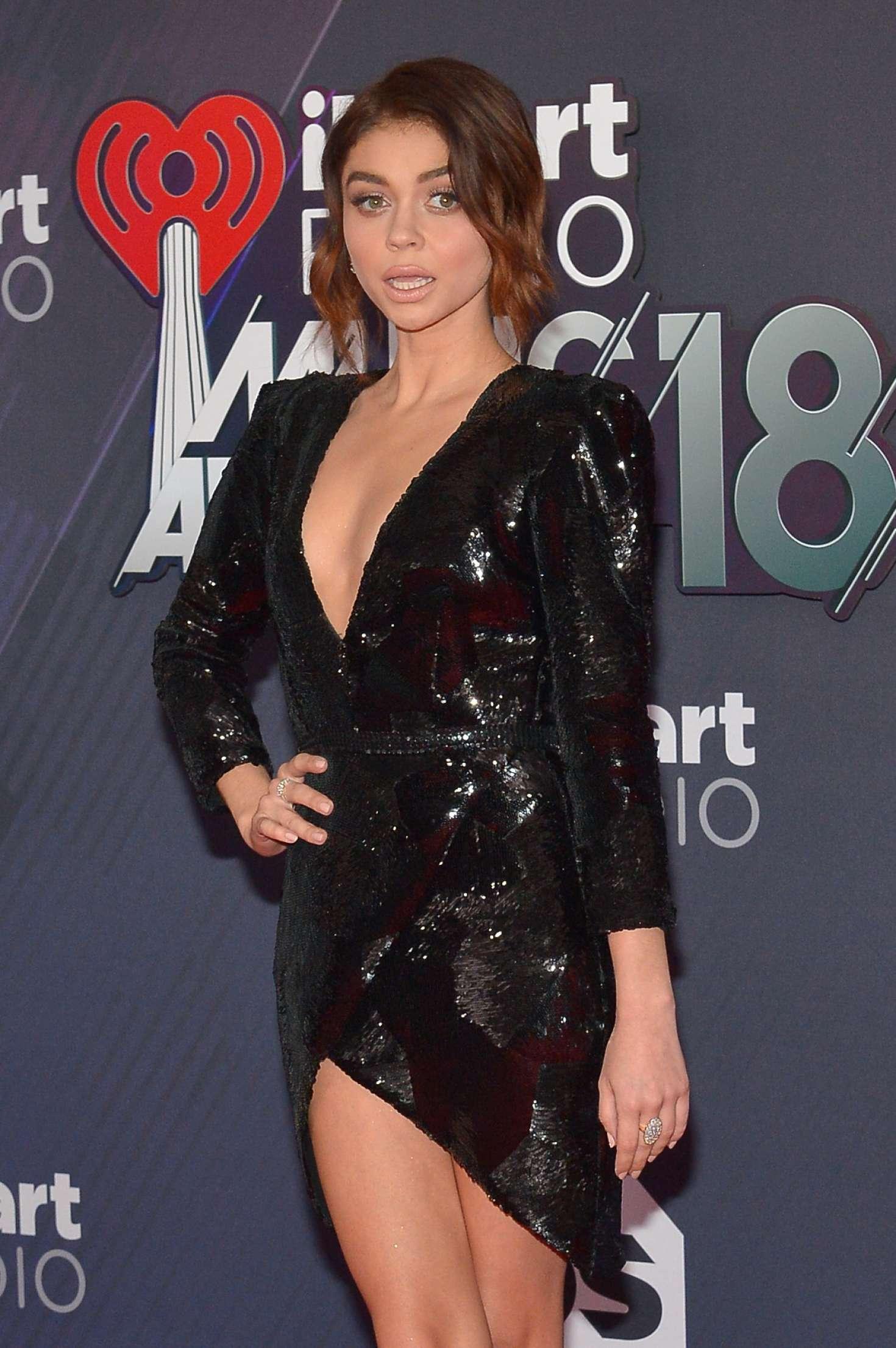 Sarah Hyland - 2018 iHeartRadio Music Awards in Inglewood