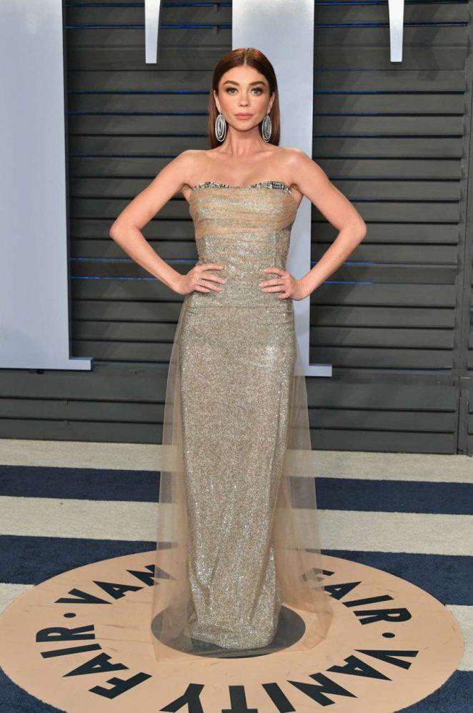 Sarah Hyland - 2018 Vanity Fair Oscar Party in Hollywood