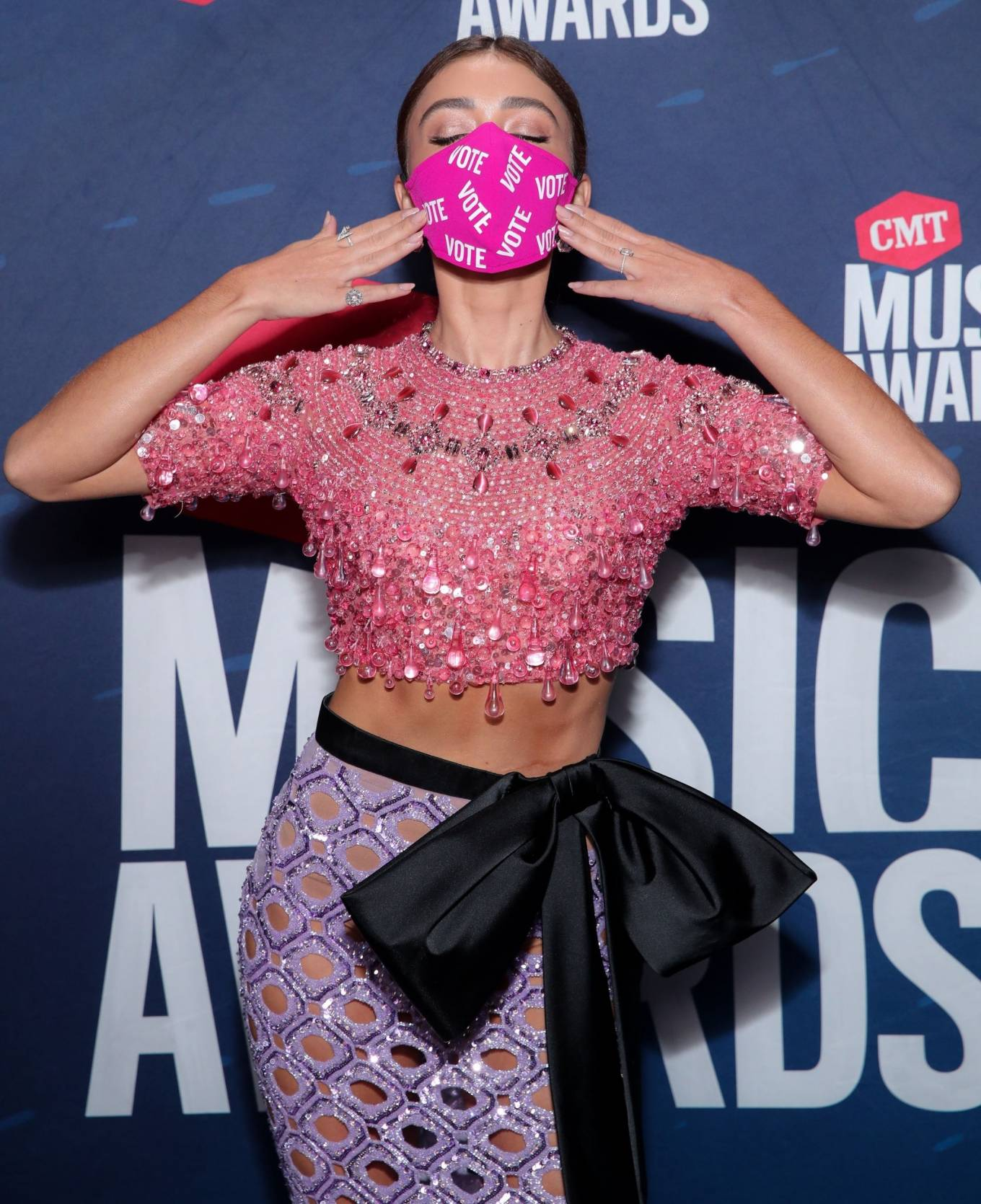 Sarah Hyland - 2020 CMT Music Awards in Nashville