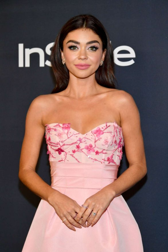 Sarah Hyland - 2020 InStyle and Warner Bros Golden Globes Party in Beverly Hills
