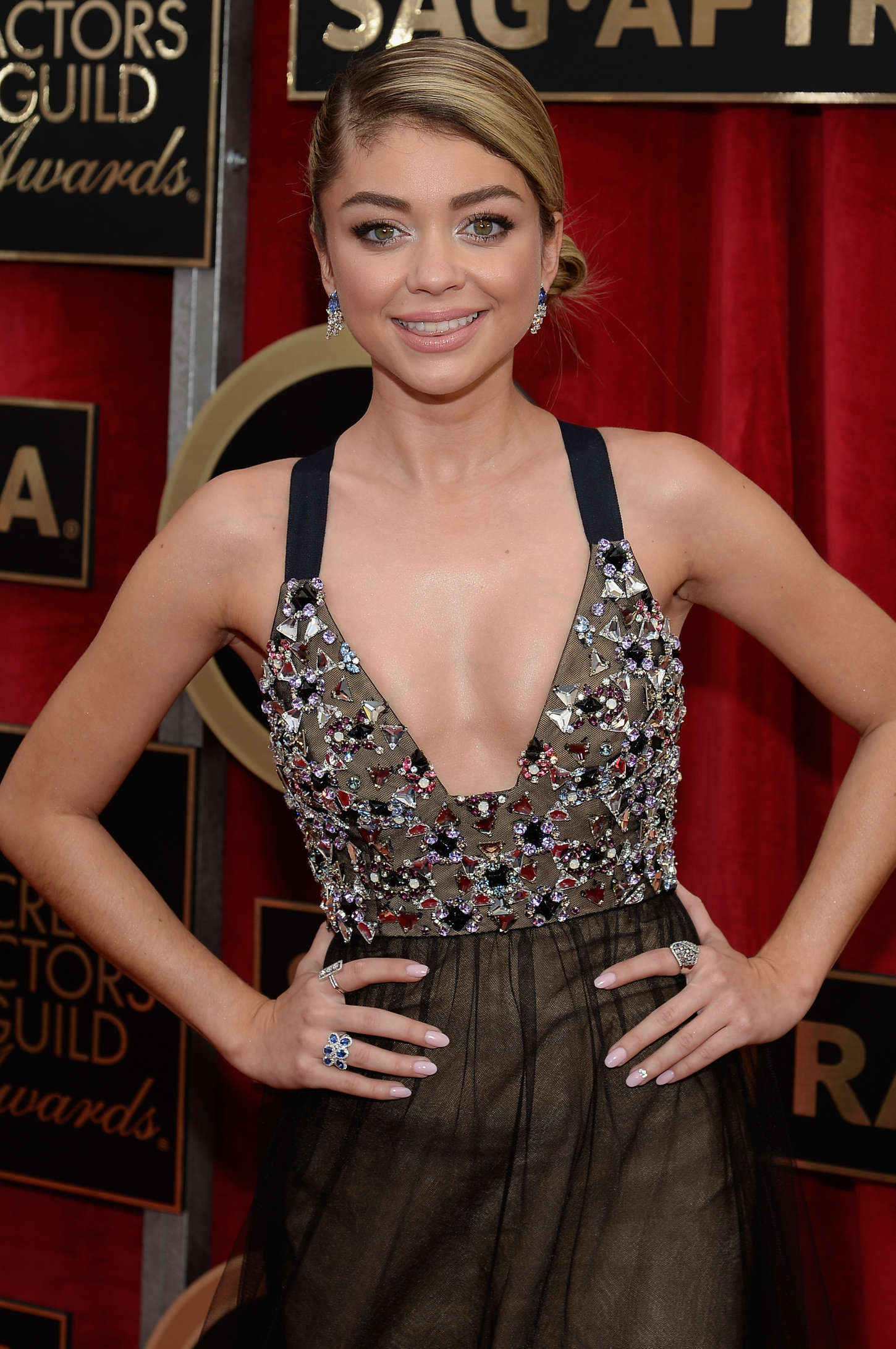 Sarah Hyland - 2015 Screen Actors Guild Awards in LA