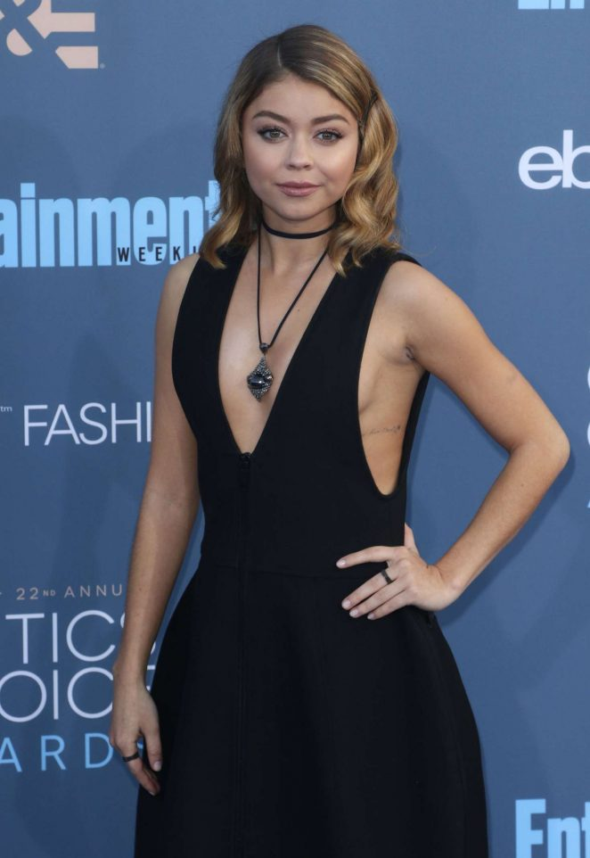Sarah Hyland - 22nd Annual Critics' Choice Awards in Los Angeles