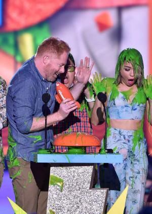 Sarah Hyland: 2015 Nickelodeon Kids Choice Awards -08